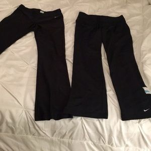Nike yoga pants x2